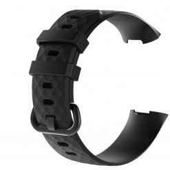 fitbit charge 3 silicone strap band
