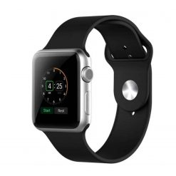Silicone straps for apple watch