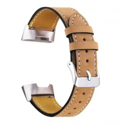 Charge 3 Leather Strap